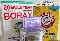 Homemade Laundry Detergent - Good Food and Gratitude