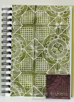 Stamp Carving - Tile