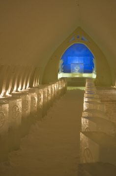Weddings in Icechapel, Arctic SnowHotel, Rovaniemi, Lapland, Finland