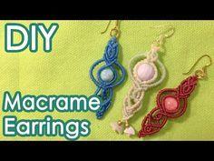 ビーズを使った巻き結びブレスレットの作り方【マクラメ編み】SEDONA Vortex Stone Beads Macrame Bracelet Tutorial - YouTube