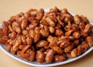 Honey Roasted Peanuts Recipe - used coconut oil cut cooking time down to slightly over 10 mins otherwise they burn