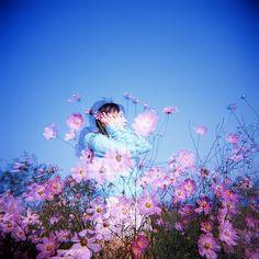 she 004 | holga / Fuji RDP lll / double exposure | yein | Flickr