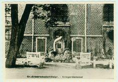 Groß Friedrichsdorf, Ehrenmal an der Kirche