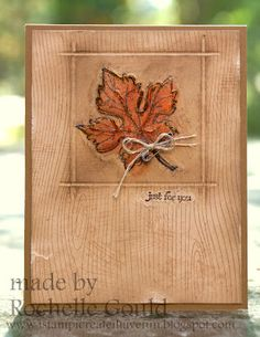 Stampin' Up! Fall  by Rochelle Gould at I stamp, I create, I have fun!: Gently Falling- SCIC58