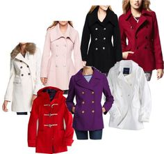 """""""Wool blend coats"""" by fabriana22 on Polyvore"""
