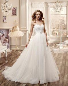 Elegant Nicole Spose Wedding Dresses 2016 - MODwedding