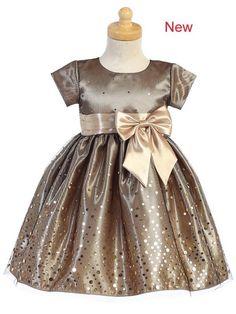 Girls Lilt Neon Coral Polka Dot Bow Easter Wedding Party Dress Sz 14 NWT