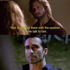 """When he just came right out and said what everyone else was thinking: 