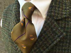 Wm. King Clothiers -   Harris Tweed Vest – Wm King Clothiers Shirt – Forrest Lennard Tie – Robert Jensen