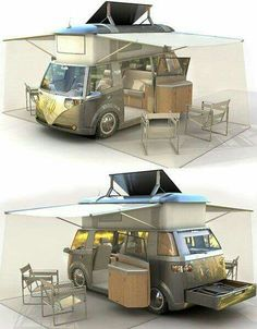 The Verdier / The Volkswagen Microbus is a classic This remake of a VW classic is remarkably true to the original on the outside u2013 but on the inside it ... & VW Camper Tent | Tents Camping and Rv