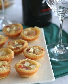 Mini Brie and Bacon Tartlets – Low Carb and Gluten-Free | All Day I Dream About Food