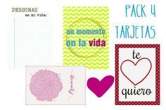 Tarjetas para Project Life en español. Por Ibiza Scrap. Free printables