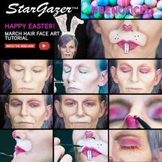 Mad March Hare - using a collection of Stargazer products including those amazing Lashes