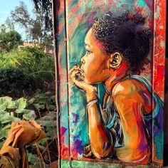 C215 New Street Art - Saly & Mbour, Senegal