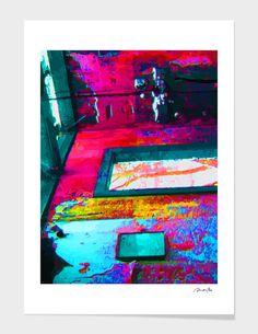 Discover «HOUSE AS A CANVAS», Limited Edition Fine Art Print by Rolando Duartes…
