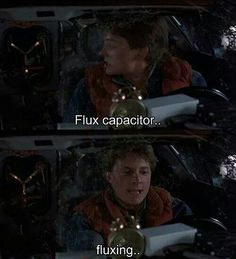 Flux Back to the Future Movie funny moment - Marty McFly