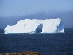 Iceberg off Cape Spear NL Newfoundland And Labrador, Cape, Outdoor, Beautiful, Mantle, Outdoors, Cabo, Cloak, Outdoor Living