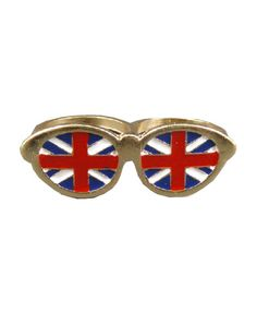Union Jack Glasses Ring from Chicnova