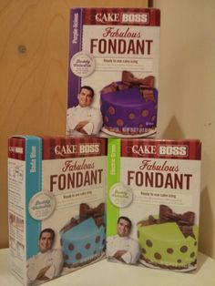 Purchased at Micheal's Cake Boss Fondant