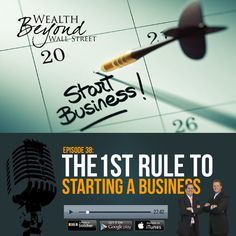 The First Rule to Starting a Business. Make a million dollars for the person it will cause you to become. Entrepreneurship | Business Planning | Making Money | Podcast | Podcasting