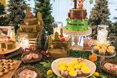 Sweet Table Detail From A Woodland Animal Birthday Party Via Karas Ideas