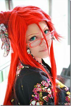 kuroshitsuji cosplay - grell sutcliff