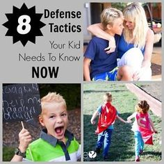 It's no exaggeration that we live in a scary world where kids are especially vulnerable to bullies and strangers who mean harm. Teaching your kids self defense doesn't mean enrolling them in karate---self...