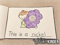 A Pinch of Kinder: Teaching Money in FDK: My Book of Canadian Coins Money Activities, Learning Activities, Kindergarten Centers, Math Centers, 1st Grade Math, Grade 1, Life Skills Lessons, Teaching Money, Canadian Coins