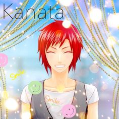 Another picture of our target Kanata.    ☆iPhone☆ https://itunes.apple.com/en/app/purelove/id483719125?mt=8   ☆Android☆ https://play.google.com/store/apps/details?id=com.koyonplete.purelove&hl=en    #koyonplete #otomegame #otomegames #kawaii