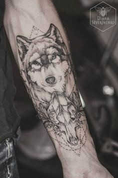 thatattoozone: Diana Severinenko dotwork tattoo