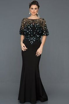 Black Sequined Fish Evening Dress - Black Sequined Fish Evening Dress Informations About Siyah Payetli Balık Abiye Elbise - Quinceanera Dresses, Prom Dresses, Formal Dresses, Wedding Dresses, Midi Dresses, Indigo, Mom Dress, Dress Long, Most Beautiful Dresses