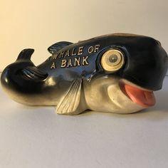 Whale Of A Bank Marineland of the Pacific California Souvenir Lenticular Eyes  | eBay