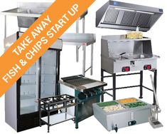Take-Away/Fish & Chips Startup - Absolute Catering Equipment Container Restaurant, Container Cafe, Fish And Chips Restaurant, Restaurant Kitchen, Catering Equipment, Restaurant Equipment, Best Fish And Chips, Fish And Chip Shop