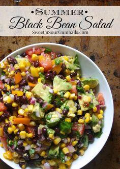 Summer Black Bean Salad