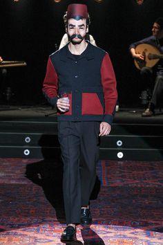 Umit Benan Spring 2014 Menswear Collection Slideshow on Style.com