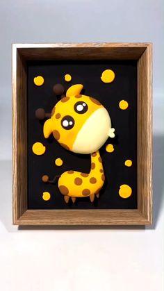 Fimo Disney, Polymer Clay Disney, Cute Polymer Clay, Cute Clay, Clay Crafts For Kids, Diy And Crafts, Paper Crafts, Diy Air Dry Clay, Diy Clay