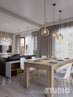 50 stylish neutral hued rooms przestronna jadalnia with images farmhouse dining room decorating ideas diningroomdecorating furnish your dining room wi. Living Room White, Living Room Sets, Living Room Modern, Living Room Interior, Living Room Decor, Elegant Dining Room, Dining Room Design, Dining Room Furniture, Living Room Hardwood Floors
