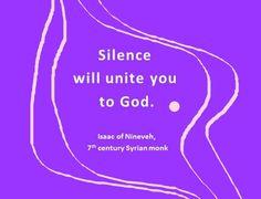 silence (Isaac of Ninevah)