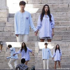Fan Snapped Spain Pics Provide First Look at Lee Min Ho and Jeon Ji Hyun Filming Legend of the Blue Sea Legend Of The Blue Sea Poster, Legend Of The Blue Sea Wallpaper, Legend Of The Blue Sea Kdrama, Legend Of Blue Sea, Jung So Min, Korean Celebrities, Korean Actors, Lee Min Ho Hairstyle, Lee Min Ho Wallpaper Iphone