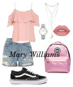 """Mary Williams"" by belibreezy on Polyvore featuring mode, River Island, BB Dakota, Vans, Topshop et CLUSE"