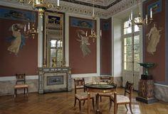 Pompejianisches Zimmer in Schloss Favorite Ludwigsburg
