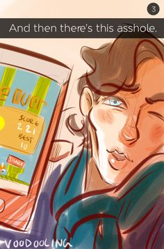 """Flappy Bird is the only thing that could tear this friendship apart. 