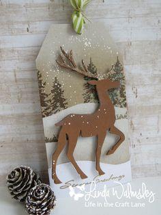 Stamping with Loll: Twelve Tags of Christmas - Day Eleven Christmas Cards To Make, Noel Christmas, Christmas Gift Tags, Christmas Wrapping, Christmas Projects, Handmade Christmas, Christmas Tables, Nordic Christmas, Modern Christmas