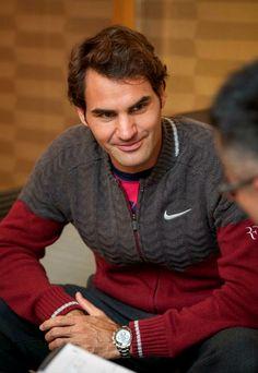 Roger Federer - 2014 Shanghai Rolex Masters Sport Tennis, Play Tennis, Sports Personality, Bjorn Borg, Ana Ivanovic, Tennis Players Female, Mr Perfect, Sports Stars, Roger Federer