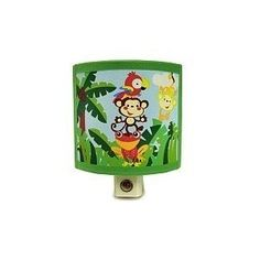 Fisher-price Jungle Fun Animals of the Rainforest Night Light (Baby Product)