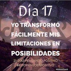 Me esfuerzo y las transformo #Día17 #retopiensopositivo #56 # @cony_peque @la_yoyo_qui