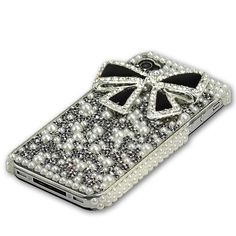 Cool Iphone Cases, Best Iphone, Iphone 4s, Iphone Case Covers, Bow Cases, Cell Phone Accessories, Swarovski Crystals, Smartphone Price, Bows
