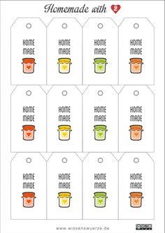 Wie letzte Woche bereits versprochen, gibt es heute die zweite Edition der Marmeladenanhänger. Viel Spaß damit. PDF Download: Geschenkeanhänger Marmelade homemade 2