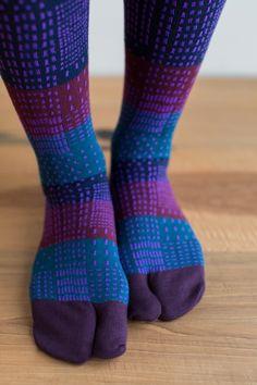 e344d3e8290 Knee High Tabi Socks Stepping Stones