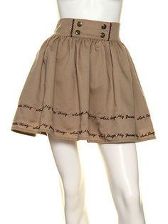 Ank Rouge - skirt